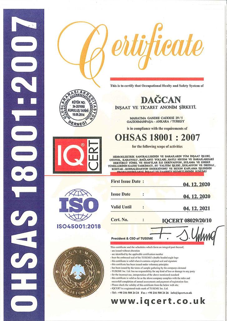 Ohsas180012007-2021